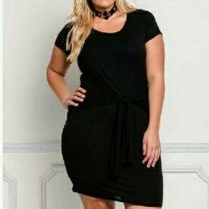 Black Bodycon Dress Plus Size
